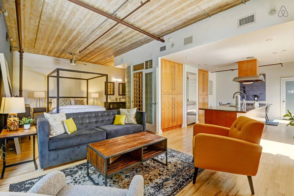 huge studio loft space in downtown orlando