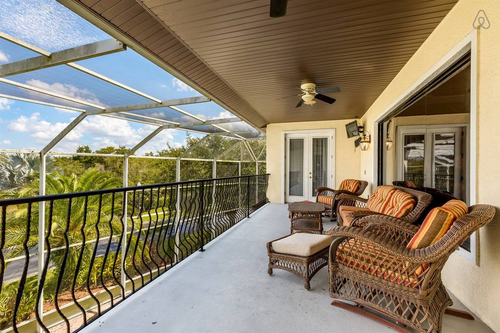 airbnb home near disney with spa and pool