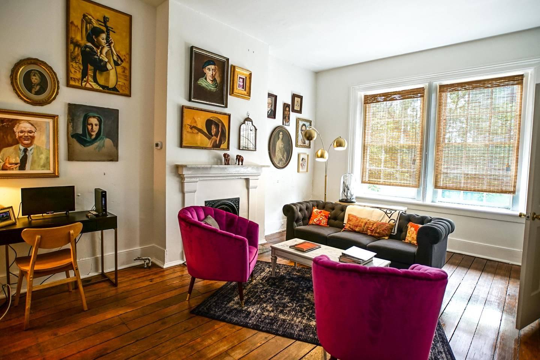 artistic and historic airbnb savannah near forsyth park