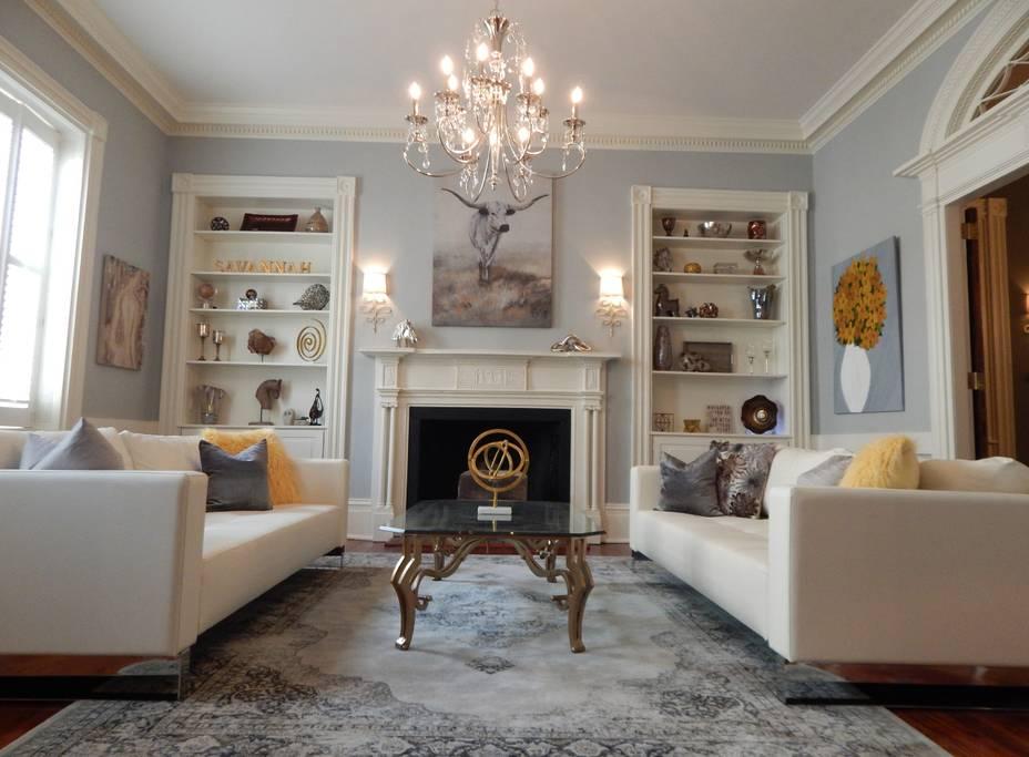 traditional historic triplex in savannah airbnb