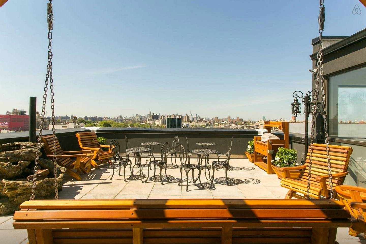 brooklyn property with huge rooftop deck