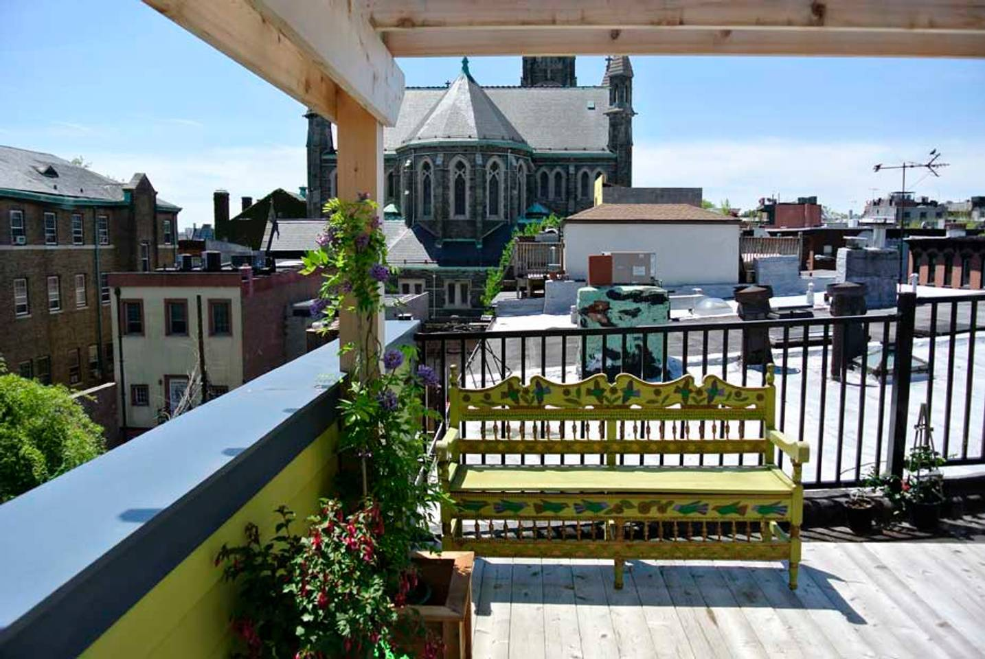 airbnb brooklyn home with rooftop deck