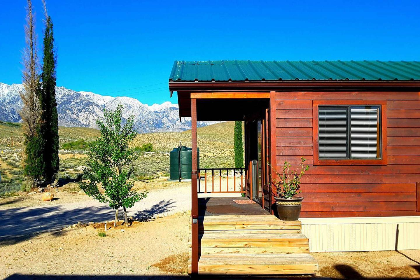 airbnb glamping cabin close to mount whitney