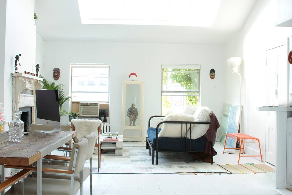 light and bright property in the west village