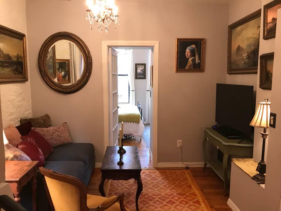 parisian style new york apartment