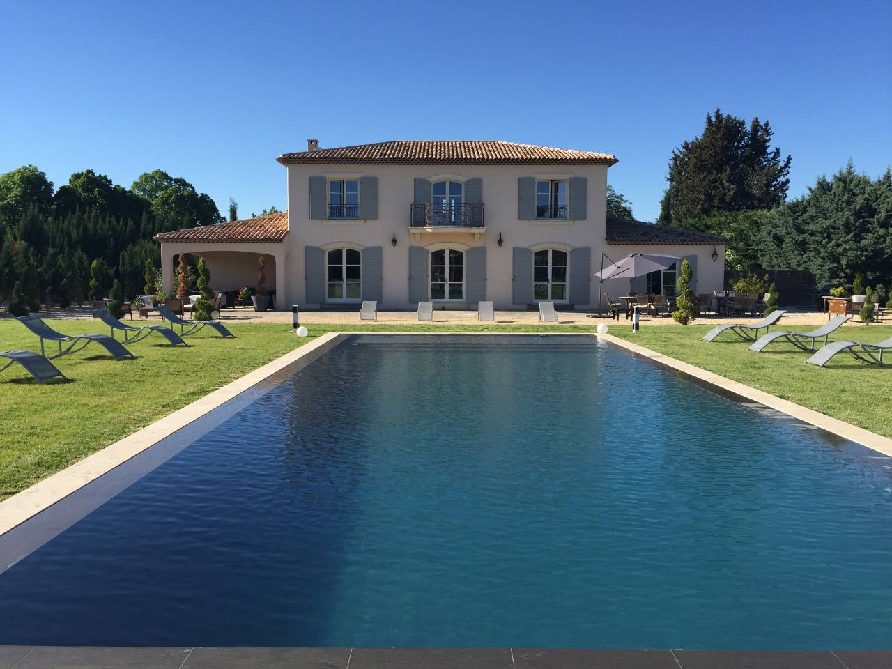 stunning airbnb villa near provence with pool