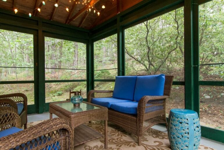 glass house wellfleet airbnb
