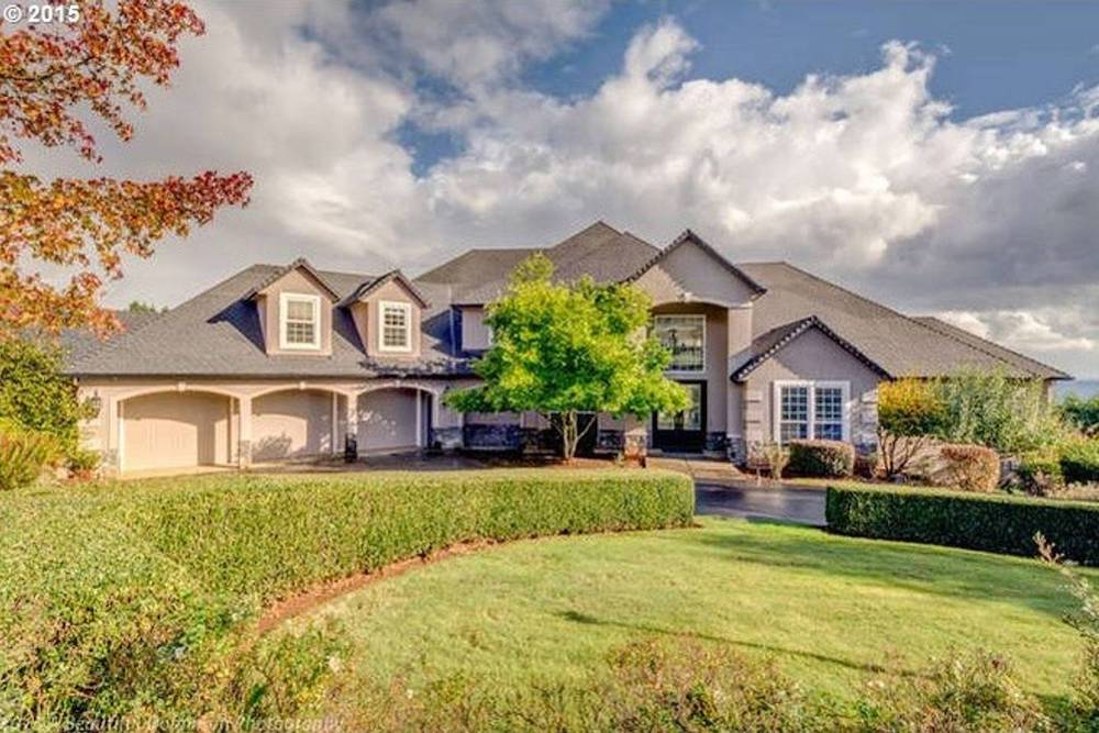 estate home in dundee hills oregon