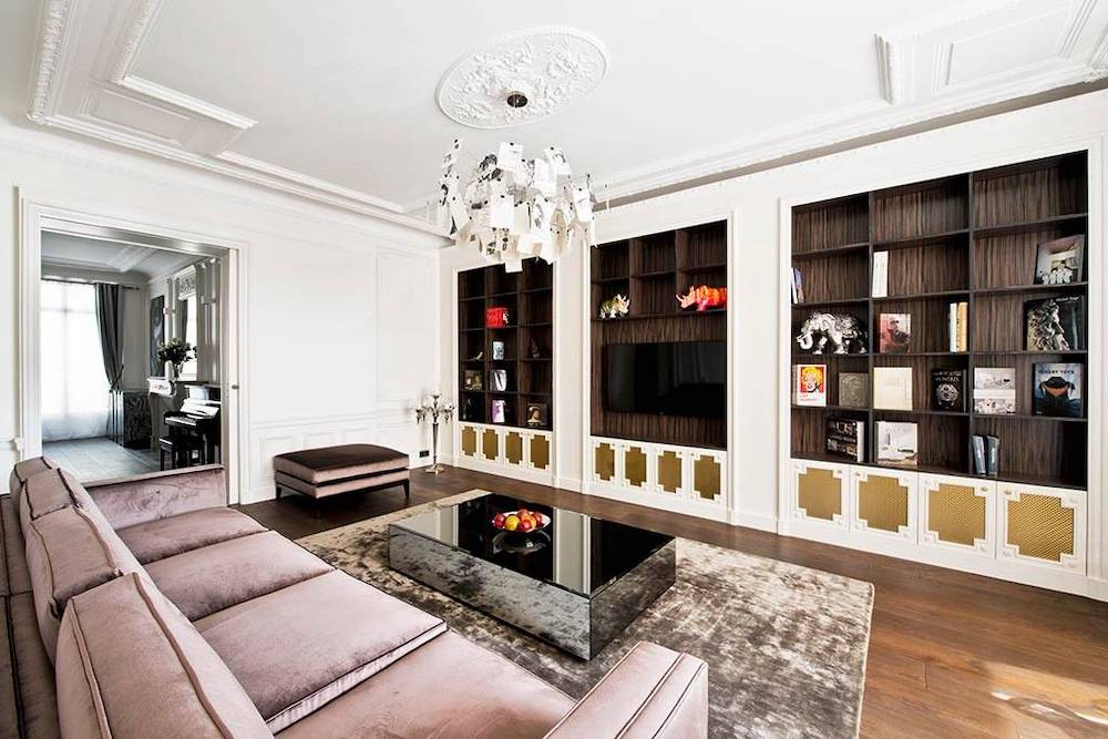 beautiful and stylish home in paris