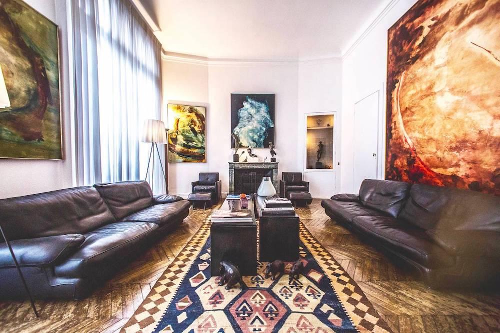 airbnb mansion in paris