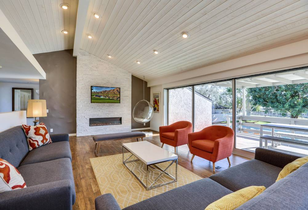beautiful modern home in palm springs from airbnb