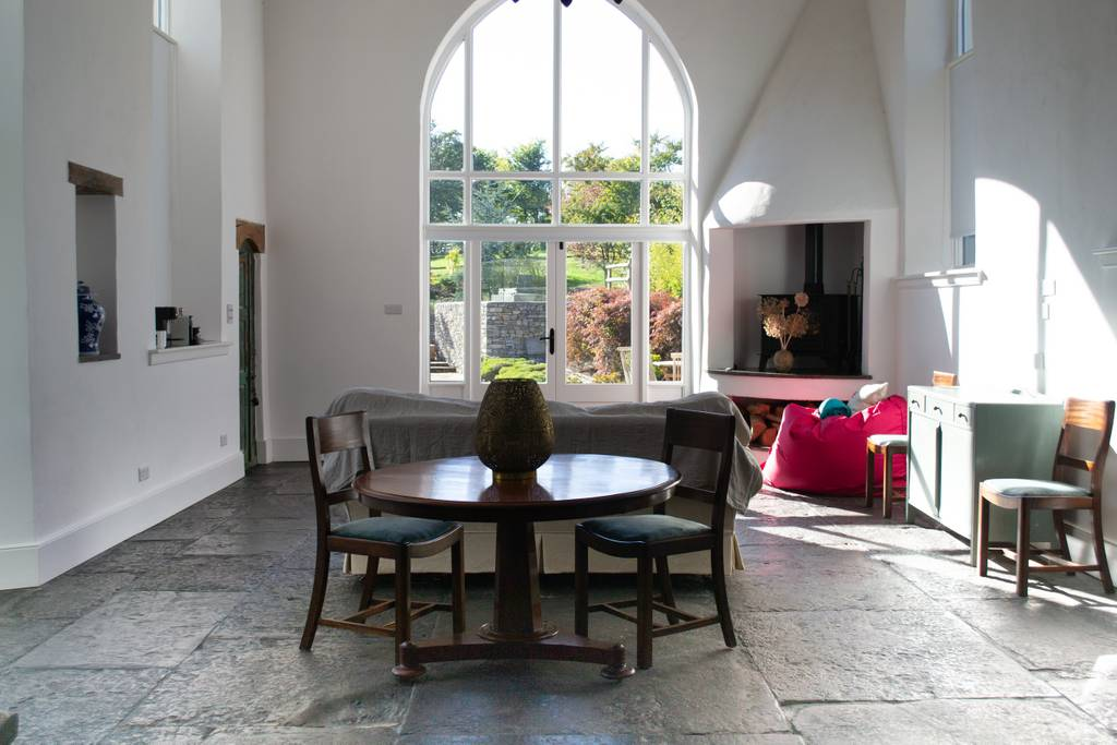 converted chapel home airbnb glastonbury