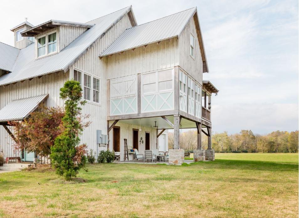 modern barn vacation rental
